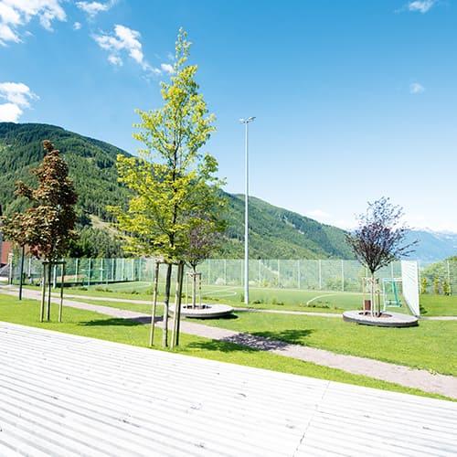 Oberhauser Bau - Freizeitanlage mit Tiefgarage